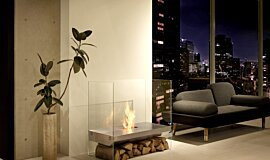 Private Residence See-Through Fireplaces 设计壁炉 Idea