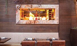 Tocca Madera See-Through Fireplaces Ethanol Burner Idea
