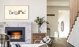 Interior Blossoms EcoSmart Fire Curved Sery Idea