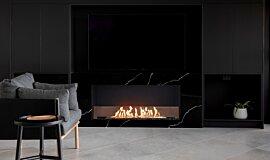 Syrenuse Apartments Single Sided Fireboxes XL Burners Fireplace Insert Idea