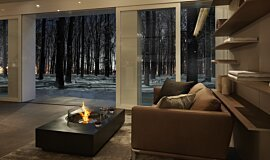 Private Residence Freestanding Fireplaces 壁炉家具 Idea