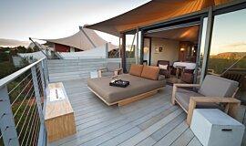 Longitude 131º Hospitality Fireplaces Built-In Fire Idea