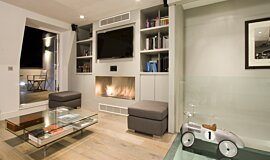 Private Residence Single Sided Fireboxes Fireplace Insert Idea