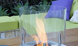 Melbourne International Flower and Garden Show Commercial Fireplaces Built-In Fire Idea