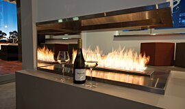 Sirens Bar XL Series Built-In Fire Idea