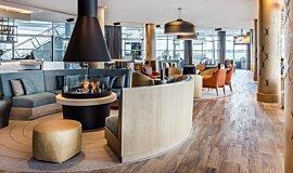 Hilton Auckland NZ Hospitality Fireplaces Built-In Fire Idea