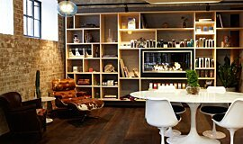 Raw Salon MAD Services Built-In Fire Idea