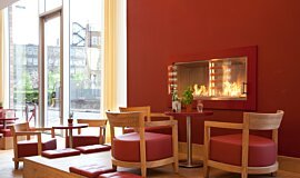 Vapiano, UK Linear Fires 嵌入式燃烧室 Idea