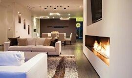 Rising Glen XL Series Built-In Fire Idea