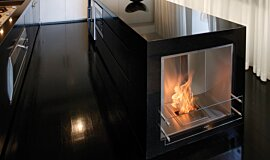 Kitcheners Builder Fireplaces Built-In Fire Idea