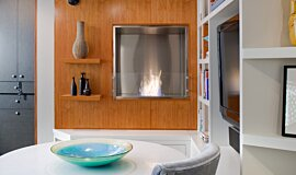Point Click Home Builder Fireplaces Built-In Fire Idea