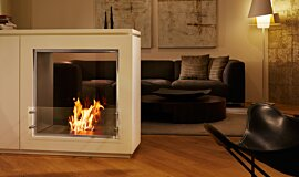 Merkmal Showroom See-Through Fireplaces 嵌入式燃烧室 Idea