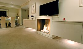 Form Builder Fireplaces Built-In Fire Idea