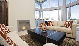 North Coogee Builder Fireplaces Built-In Fire Idea