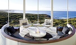 Southern Ocean Lodge Commercial Fireplaces Built-In Fire Idea