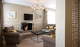 St James Boutique Hotel Ethanol Burners Built-In Fire Idea