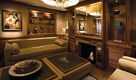 St James Boutique Hotel Commercial Fireplaces Built-In Fire Idea