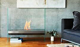 Merkmal Japan See-Through Fireplaces 设计壁炉 Idea