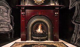TFC Showroom Builder Fireplaces Built-In Fire Idea