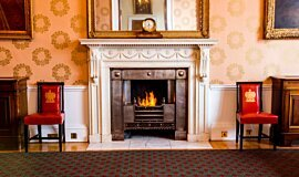 Trinity House Commercial Fireplaces Built-In Fire Idea