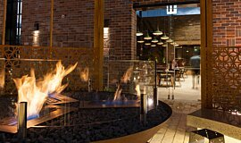 Junction Moama Linear Fires Built-In Fire Idea