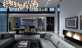 AB House XL Series Built-In Fire Idea