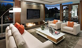Buildwise Builder Fireplaces Built-In Fire Idea