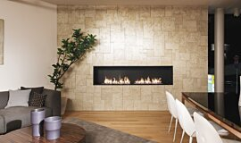 Merkmal Showroom Linear Fires Built-In Fire Idea