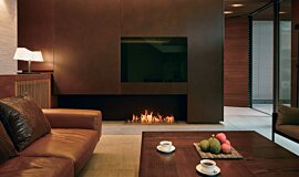 Private Residence XL Series Built-In Fire Idea