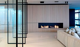 N Apartment Tel Aviv Apartment Fireplaces Ethanol Burner Idea