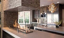 Notion Design Linear Fires Built-In Fire Idea