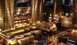 Paramount Hotel Linear Fires Built-In Fire Idea