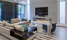 Viva Attadale Builder Fireplaces Built-In Fire Idea
