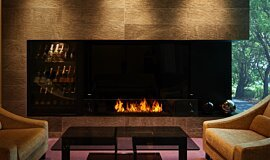 Salon de Louange Linear Fires Ethanol Burner Idea