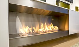 Paddington Residence Single Sided Fireboxes XL Burners 生物乙醇燃烧器 Idea