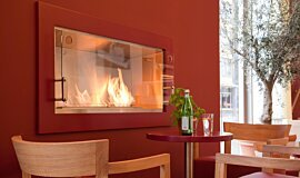 Vapiano, UK Single Sided Fireboxes XL Burners 壁炉配件 Idea