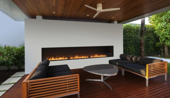 Flex 158SS Single Sided Fireplace by EcoSmart Fire