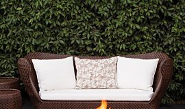 Private Residence Landscape Fireplaces 整体壁炉 Idea