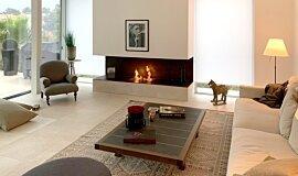 Schreinerei/Joinery Bernhard Schubert, Ebrach Builder Fireplaces 生物乙醇燃烧器 Idea