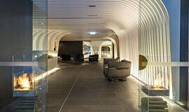 SKYE Suites Sydney See-Through Fireplaces 设计壁炉 Idea