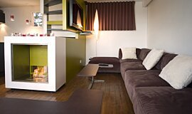 Chalet LaPlagne See-Through Fireplaces 设计壁炉 Idea