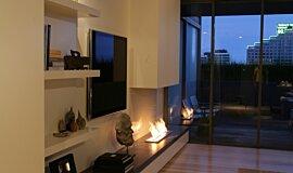 Pia Ruggeri Residential Fireplaces 生物乙醇燃烧器 Idea
