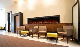 Lobby Hospitality Fireplaces 嵌入式燃烧室 Idea