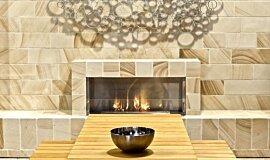 EcoOutdoor Builder Fireplaces 嵌入式燃烧室 Idea