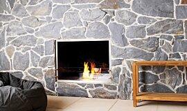 EcoOutdoor Hospitality Fireplaces 嵌入式燃烧室 Idea