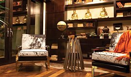 New American Home  Commercial Fireplaces 整体壁炉 Idea