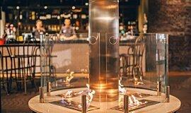 [m]eatery  Hospitality Fireplaces 生物乙醇燃烧器 Idea