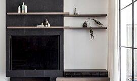 Webbs Joinery Builder Fireplaces 生物乙醇燃烧器 Idea