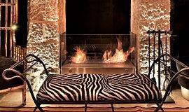 Villa Brown Jerusalem Hotel See-Through Fireplaces 设计壁炉 Idea