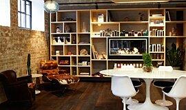Raw Salon See-Through Fireplaces 嵌入式燃烧室 Idea